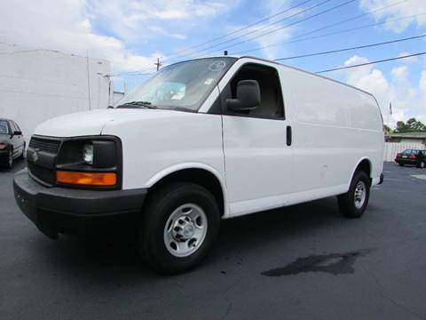2008 Chevrolet Express Cargo for sale at The Repo Store - 624 SOUTH MILITARY TRAIL LOT 1 in West Palm Beach FL