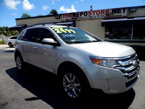 2013 Ford Edge for sale at The Repo Store - 1616 South Military Trail Lot 2 in West Palm Beach FL