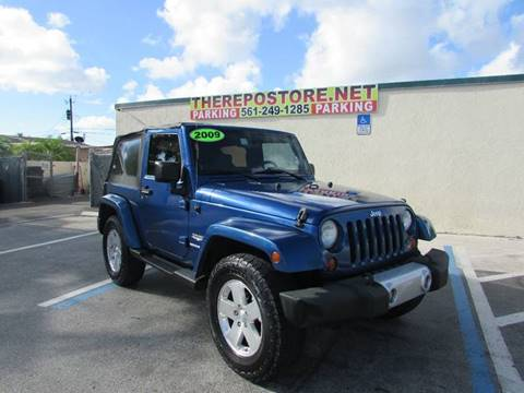 2009 Jeep Wrangler for sale at The Repo Store - 1616 South Military Trail Lot 2 in West Palm Beach FL