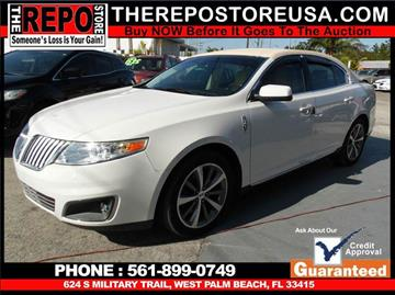 2009 Lincoln MKS for sale in West Palm Beach, FL