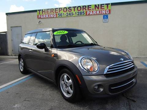 2011 MINI Cooper Clubman for sale at The Repo Store - 1616 South Military Trail Lot 2 in West Palm Beach FL