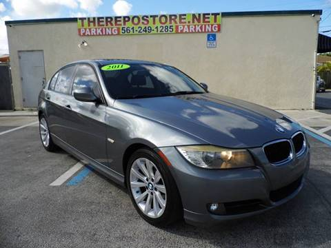 2011 BMW 3 Series for sale at The Repo Store - 1616 South Military Trail Lot 2 in West Palm Beach FL