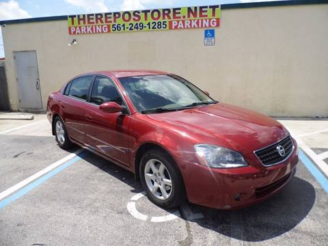 2005 Nissan Altima for sale at The Repo Store - 1616 South Military Trail Lot 2 in West Palm Beach FL