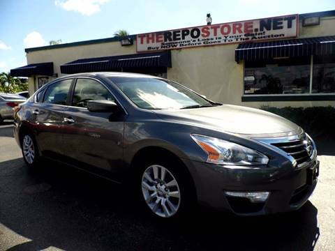 2014 Nissan Altima for sale at The Repo Store - 1616 South Military Trail Lot 2 in West Palm Beach FL