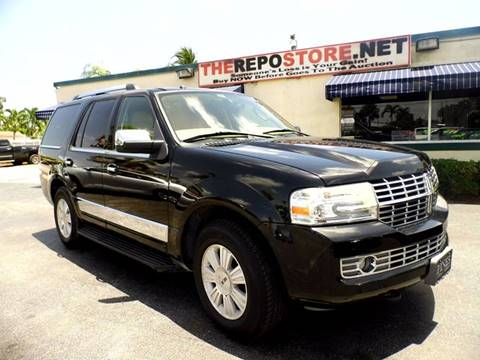 2008 Lincoln Navigator for sale at The Repo Store - 1616 South Military Trail Lot 2 in West Palm Beach FL