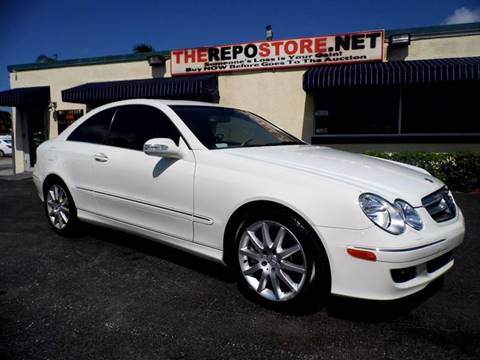 2007 Mercedes-Benz CLK for sale at The Repo Store - 1616 South Military Trail Lot 2 in West Palm Beach FL