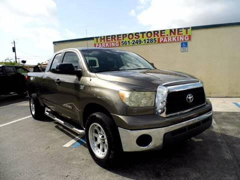 2008 Toyota Tundra for sale at The Repo Store - 1616 South Military Trail Lot 2 in West Palm Beach FL