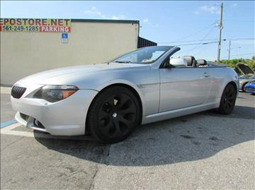 2005 BMW 6 Series for sale at The Repo Store - 1616 South Military Trail Lot 2 in West Palm Beach FL