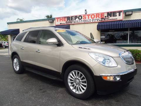 2010 Buick Enclave for sale at The Repo Store - 1616 South Military Trail Lot 2 in West Palm Beach FL