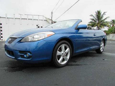 2008 Toyota Camry Solara for sale at The Repo Store - 624 SOUTH MILITARY TRAIL LOT 1 in West Palm Beach FL