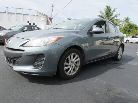 2012 Mazda MAZDA3 for sale at The Repo Store - 624 SOUTH MILITARY TRAIL LOT 1 in West Palm Beach FL