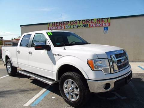 2011 Ford F-150 for sale at The Repo Store - 624 SOUTH MILITARY TRAIL LOT 1 in West Palm Beach FL