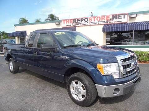 2013 Ford F-150 for sale at The Repo Store - 624 SOUTH MILITARY TRAIL LOT 1 in West Palm Beach FL