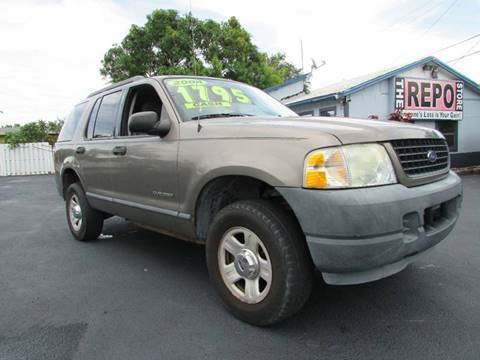 2005 Ford Explorer for sale at The Repo Store - 624 SOUTH MILITARY TRAIL LOT 1 in West Palm Beach FL