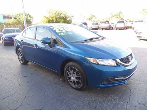 2013 Honda Civic for sale at The Repo Store in West Palm Beach FL