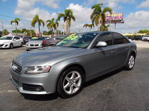 2009 Audi A4 for sale in West Palm Beach, FL