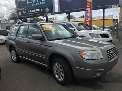 2006 Subaru Forester for sale at Victory Auto Sales in Stockton CA