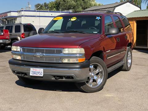 2002 Chevrolet Tahoe for sale at Victory Auto Sales in Stockton CA