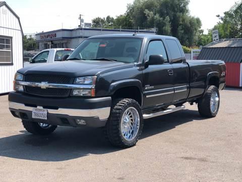 2004 Chevrolet Silverado 2500HD for sale at Victory Auto Sales in Stockton CA