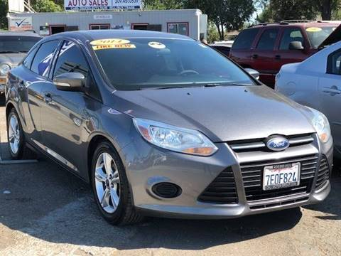 2014 Ford Focus for sale at Victory Auto Sales in Stockton CA