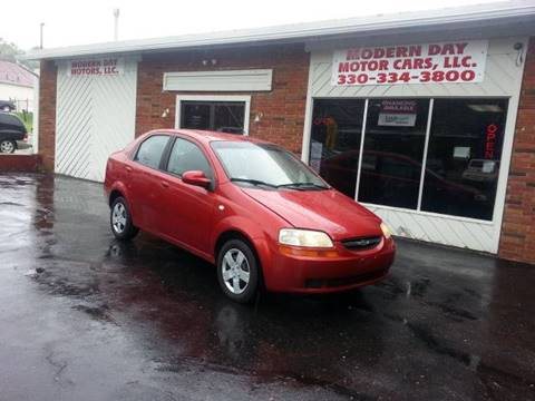 2006 Chevrolet Aveo for sale at Modern Day Motor Cars LLC in Wadsworth OH