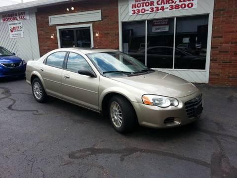2004 Chrysler Sebring for sale at Modern Day Motor Cars LLC in Wadsworth OH