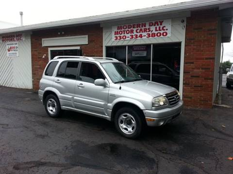 2004 Suzuki Grand Vitara for sale at Modern Day Motor Cars LLC in Wadsworth OH
