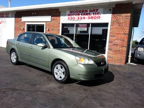 2006 Chevrolet Malibu for sale at Modern Day Motor Cars LLC in Wadsworth OH