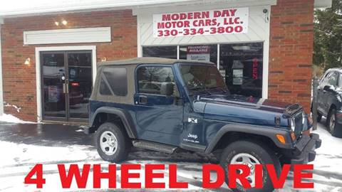 2003 Jeep Wrangler for sale in Wadsworth, OH