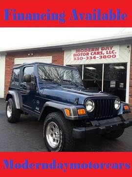 2004 Jeep Wrangler for sale in Wadsworth, OH