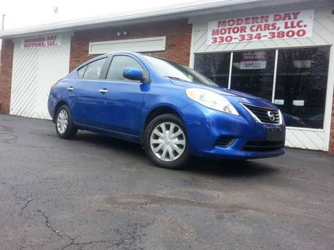 2012 Nissan Versa for sale in Wadsworth, OH