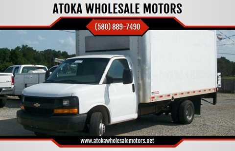2013 Chevrolet Express Cutaway for sale in Atoka, OK
