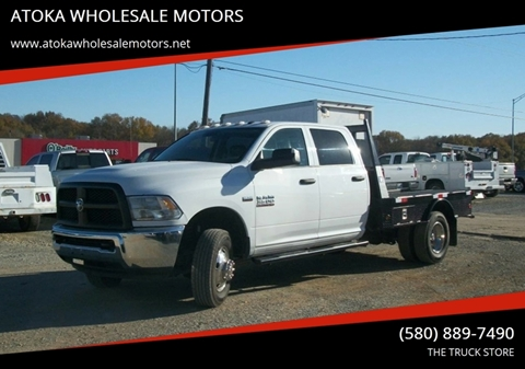 2015 RAM Ram Chassis 3500 for sale in Atoka, OK