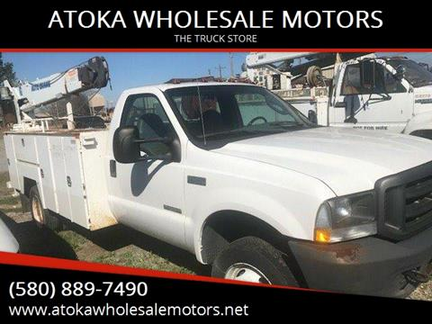 2004 Ford F-450 UTILITY for sale in Atoka, OK