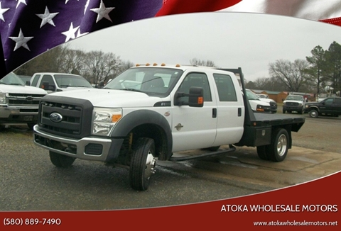 2011 Ford F-550 Super Duty for sale in Atoka, OK