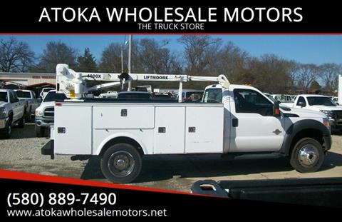2012 Ford F-550 Super Duty for sale in Atoka, OK