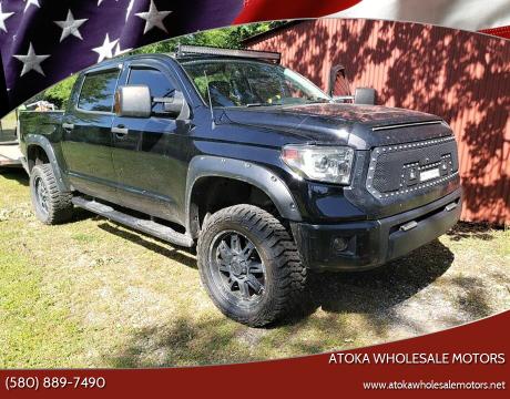 2014 Toyota Tundra for sale at ATOKA WHOLESALE MOTORS in Atoka OK