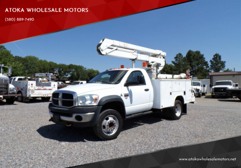 2010 Dodge Ram Chassis 4500 for sale at ATOKA WHOLESALE MOTORS in Atoka OK