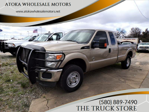 2013 Ford F-250 Super Duty for sale at ATOKA WHOLESALE MOTORS in Atoka OK
