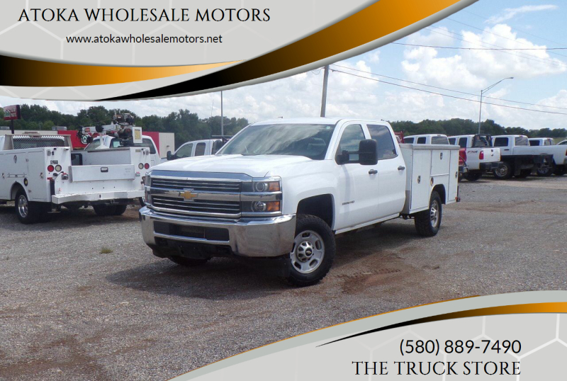 2015 Chevrolet Silverado 2500HD for sale at ATOKA WHOLESALE MOTORS in Atoka OK
