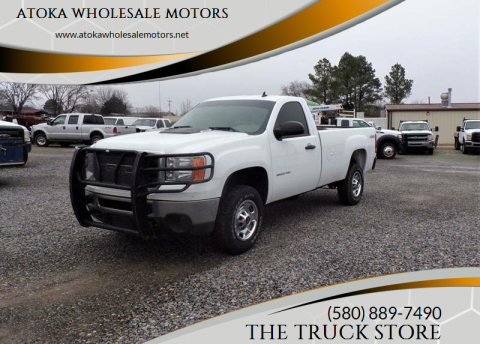 2014 GMC Sierra 2500HD for sale at ATOKA WHOLESALE MOTORS in Atoka OK