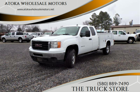 2012 GMC Sierra 3500HD for sale at ATOKA WHOLESALE MOTORS in Atoka OK