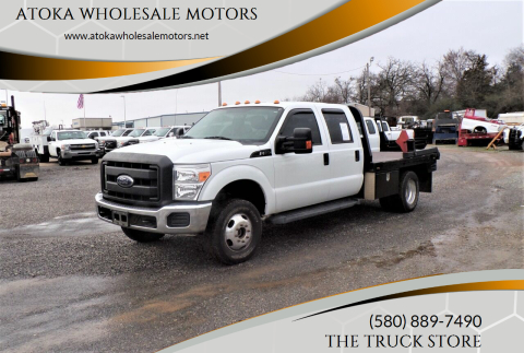 2016 Ford F-350 Super Duty for sale at ATOKA WHOLESALE MOTORS in Atoka OK