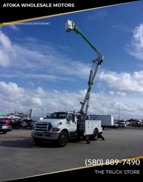 2011 Ford F-750 for sale at ATOKA WHOLESALE MOTORS in Atoka OK