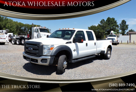 2015 Ford F-350 Super Duty for sale at ATOKA WHOLESALE MOTORS in Atoka OK