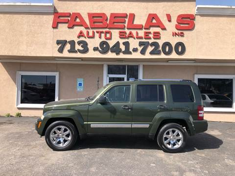 2008 Jeep Liberty for sale in South Houston, TX