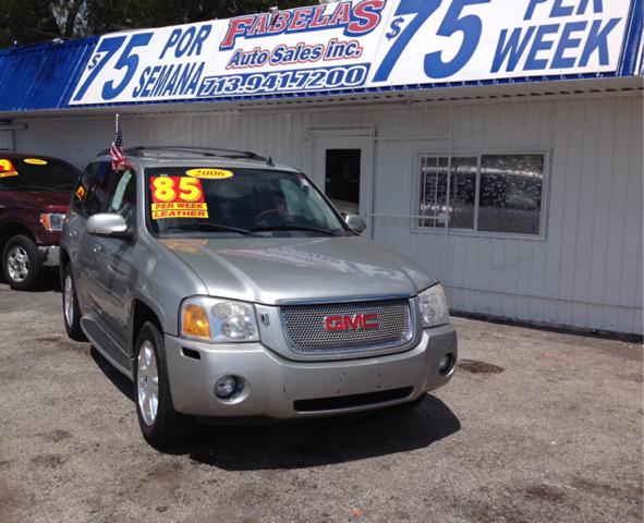 Suv Auto Sales Houston Tx: 2006 Gmc Envoy Denali 4dr SUV In South Houston TX