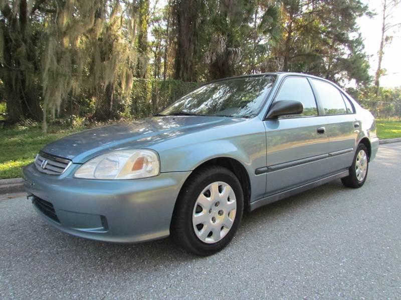 2000 Honda Civic DX 4dr Sedan   Venice FL