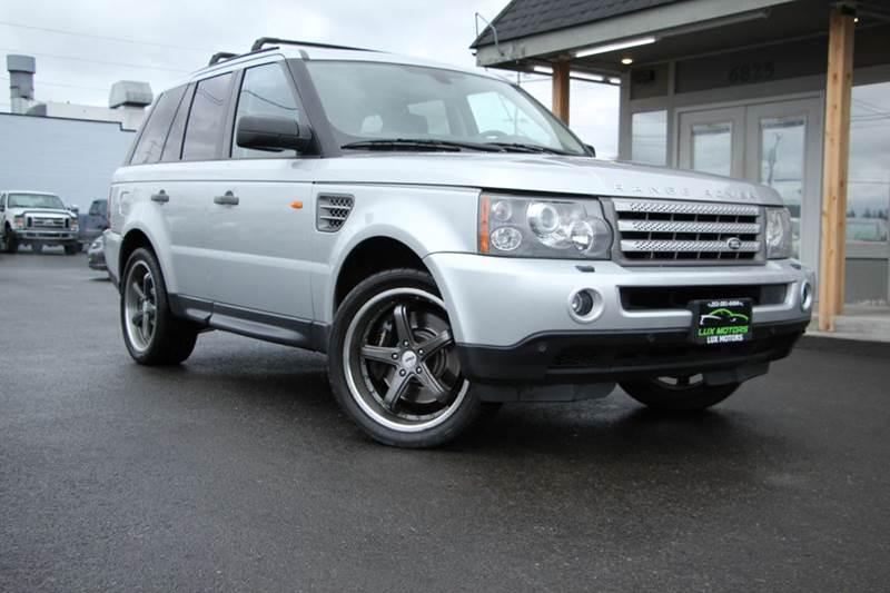 2006 Land Rover Range Rover Sport In Tacoma WA - Lux Motors