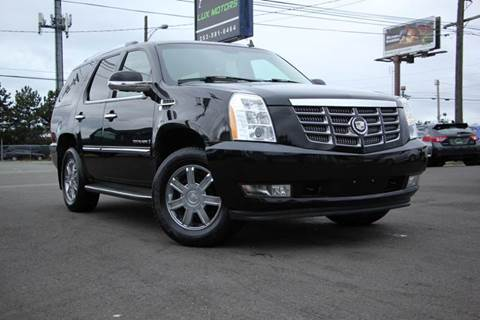 Used Cars Tacoma Car Loans Auburn WA Seattle WA Lux Motors